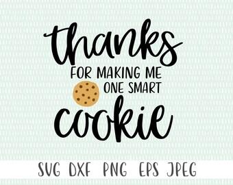 One Smart Cookie svg | Teacher svg | Teacher Gift svg | Thank You Teacher svg | Potholder SVG | For Teacher svg | Teacher Appreciation Gift