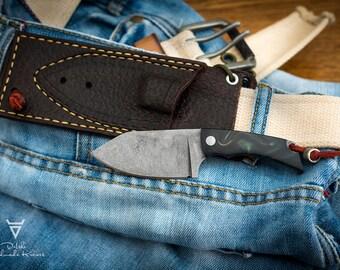 Handmade Neck Knife EDC