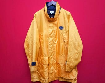 vintage lacoste windbreaker jacket mens