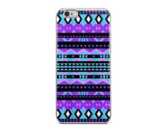 iPhone Case - Purple Tripal Design