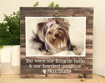 Pet loss frame, personalized pet, personalized frames, pet memorial, memorial frame, dog frame, memorial gift , remembrance gift,