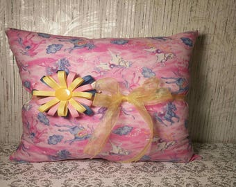 Pillow with Hair Bow