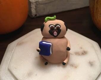 Bookworm pug!