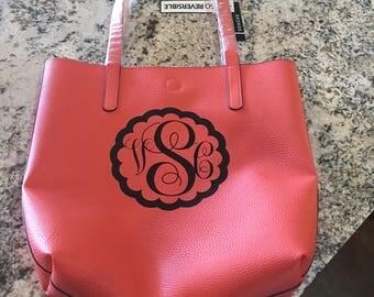 Monogrammed Reversible Bag