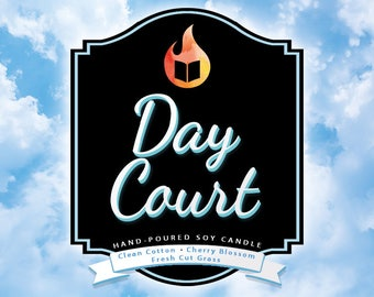Day Court - Hand-Poured Soy Wax Candle Inspired By The A Court of Thorns and Roses Series