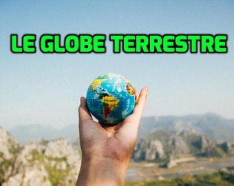 4th Grade French Language Immersion Curriculum (Earth Science PowerPoint): Le Globe Terrestre