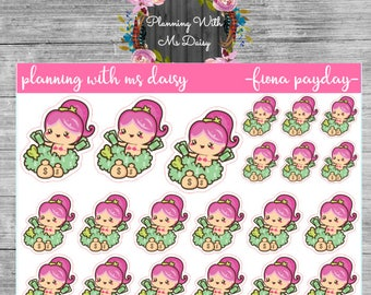 Fiona Payday Stickers