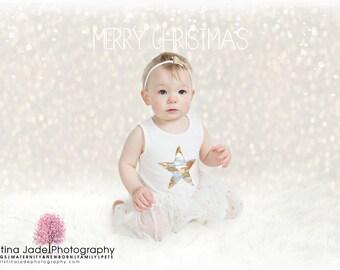 Christmas Lights Digital Background