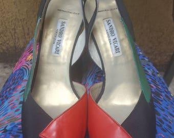 peep toes sandro vicari neu leather eu 39 uk 6