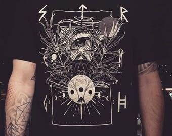 strength shirt / discharge / screen printing