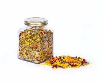 Bali Herbal Bath Tea Sunflower and Rose