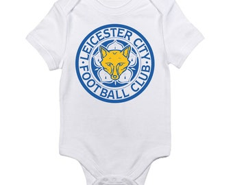 Leicester City Football Club FC Logo Baby Onesie
