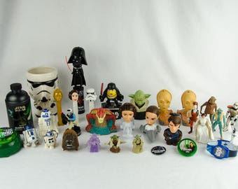 Vintage Star Wars Action Figure Lot & Collectibles