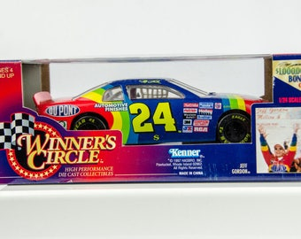 Winners Circle 1997 Stock Car Series Jeff Gordon #24 Dupont 1/24 Scale Diecast
