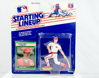 Starting Lineup 1989 Chris Sabo Action Figure Cincinnati Reds MLB
