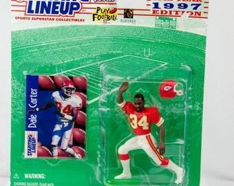 1997 Starting Lineup Dale Carter Kansas City Chiefs Action Figure