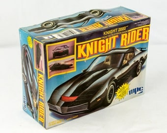 Rare Vintage MPC Knight Rider Pontiac Firebird 1/25 Scale Model