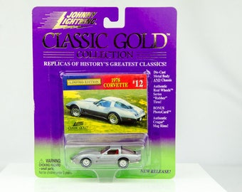 Johnny Lightning Classic Gold Collection 1978 Chevy Corvette 1/64 Diecast Car