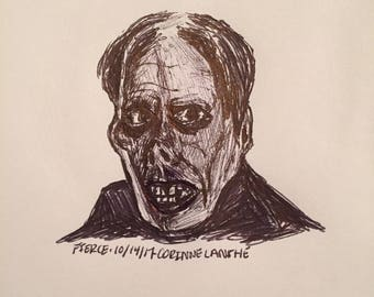 The Phantom of the Opera // Universal Monster Movie Drawing