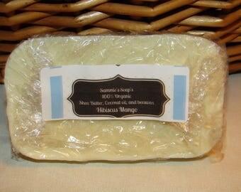 Hibiscus Mango Shea butter soap