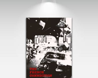 Movie Posters for The French Connection Art Print on Canvas Home Wall Decor
