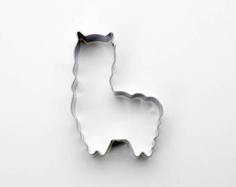Alpaca Cookie Cutter - Llama Cookie Cutter - Animal Fondant Biscuit Mold - Pastry Baking Tool Set