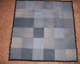 Denim Baby Blanket Quilt