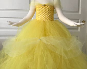 Classic Belle Inspired Dress Beauty and the Beast