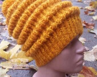 Modern knit hat