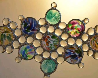 glass art and suncatcher