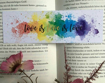 Love is Love Bookmark