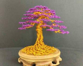 DIY Wire Tree Sculpture