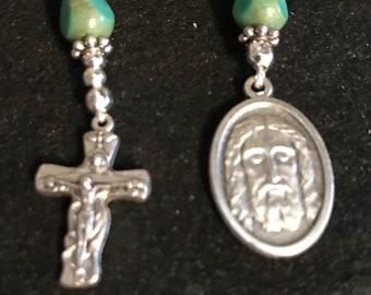 Face of Jesus Ecce Homo Pocket Rosary / Chaplet  #3