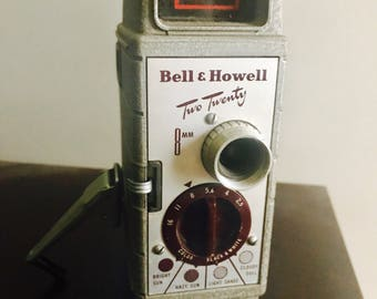 1952 Bell & Howell Two Twenty Wilshire camera