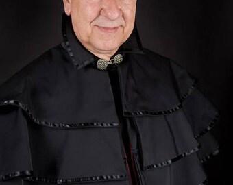 Gothic cape check