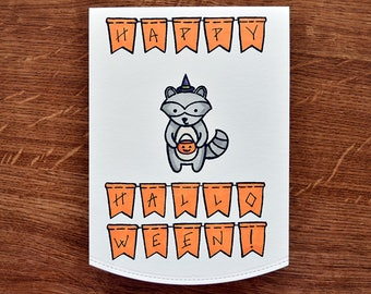 "Card ""Happy Halloween!"""