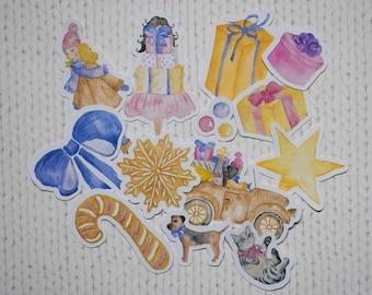 Little Christmas Ephemera/Die Cut Pack