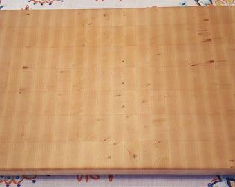 Hard Maple End-Grain Cutting Board