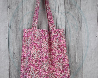Cotton bag / / tote bag / / shopping bags / / Pocket / / Shoppingbag / / bags / / gift for her