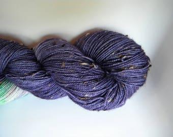 More Than Just A Memory BFL Tweed Sock Yarn