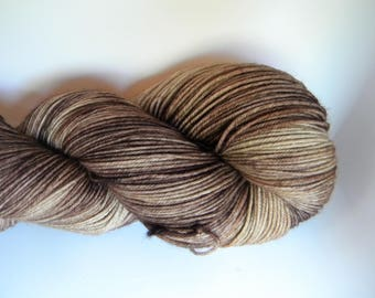 With Enough Coffee... 4 ply Sock Yarn