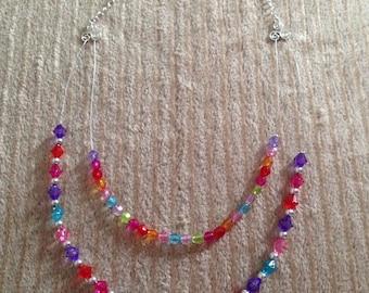 Cute Rainbow Necklace