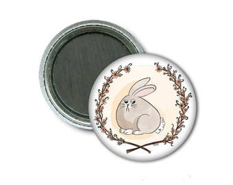 """Unhappy bunny 1"""" Magnet/Aimant"""