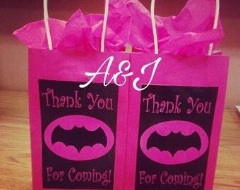 Superman INSPIRED goody bags