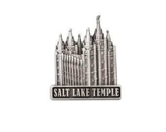 Salt Lake Temple Silver Pin