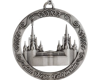 San Diego California LDS Temple Ornament