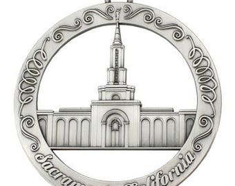Sacramento California LDS Temple Ornament