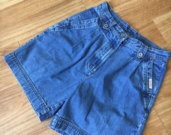 Bill Blass Vintage Denim Shorts