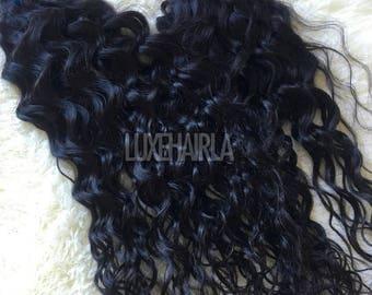 Brazilian Wet & Wavy Human Hair Extensions