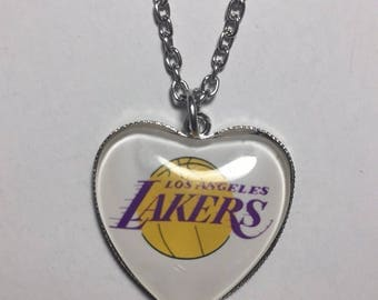 Los Angeles Lakers necklace